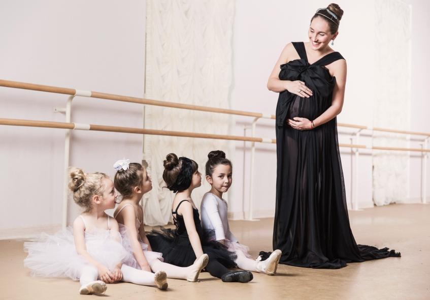 Анастасия Винокур: эксклюзивная фотосессия на 9-м месяце
