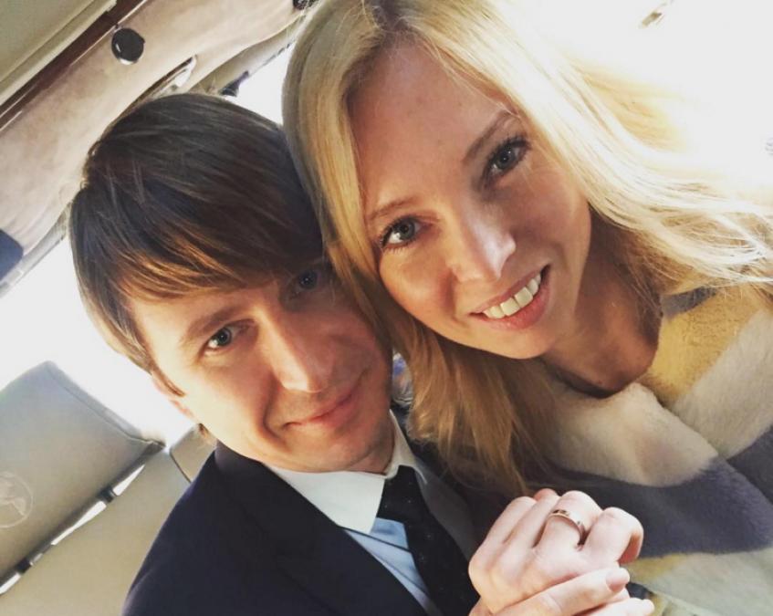Алексей Ягудин (35) и Татьяна Тотьямнина (34)