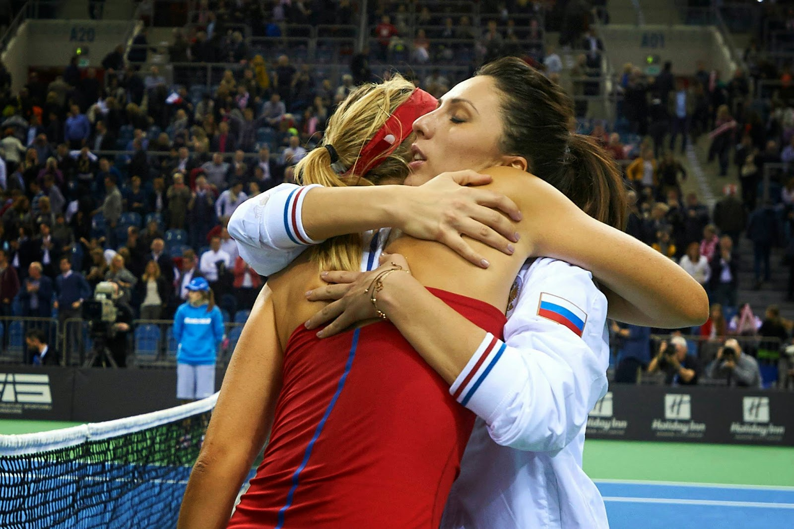 Мария Шарапова и Анастасия Мыскина