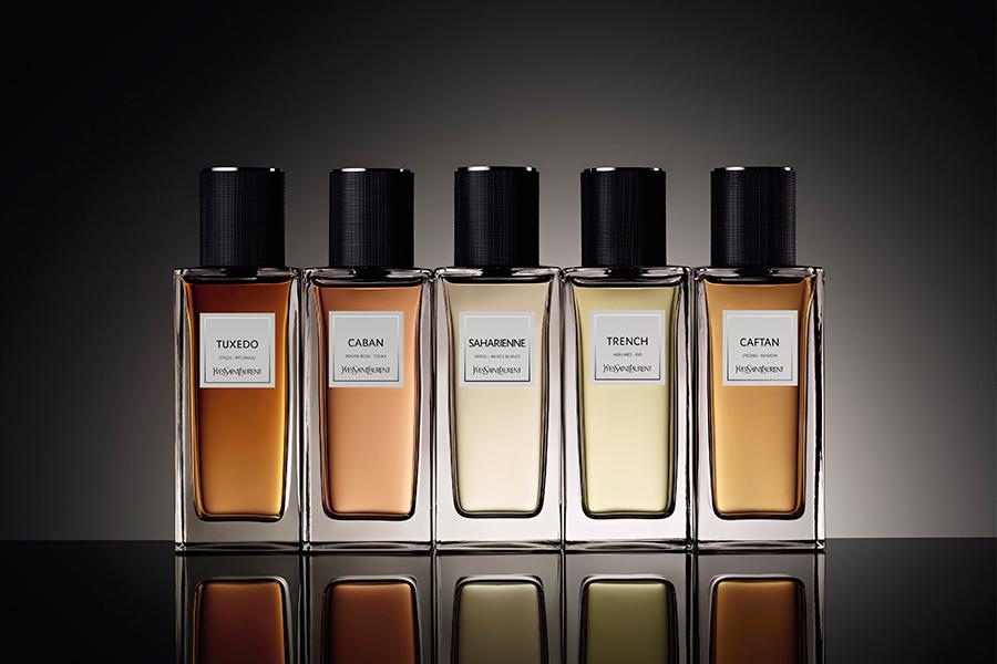 Yves Saint Laurent, коллекция ароматов Le Vestiaire Des Parfums