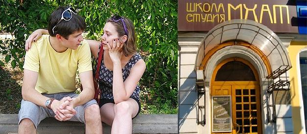 Илья Бочарников и Элизабет Олсен