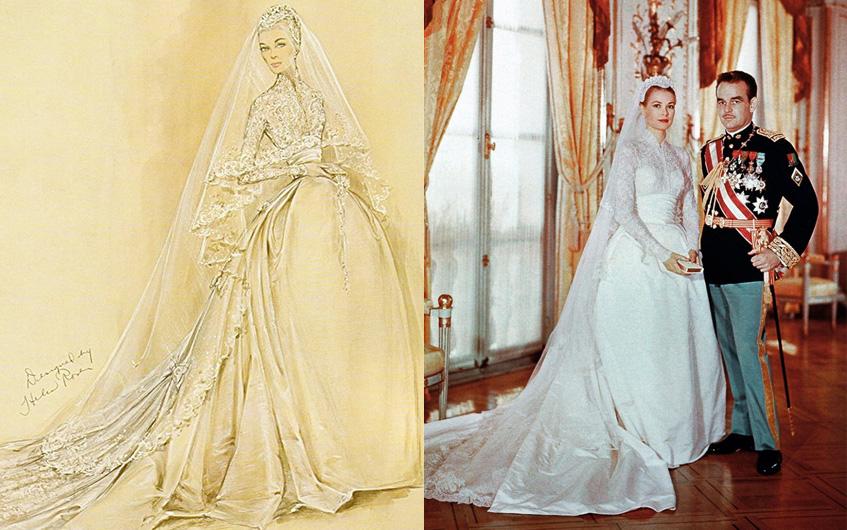 Свадебное платья королевского стиля
