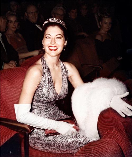 Ава Гарднер, 1960 год