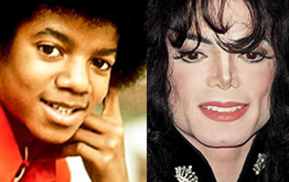 Как изменялось лицо Майкла Джексона на протяжении многих лет 90