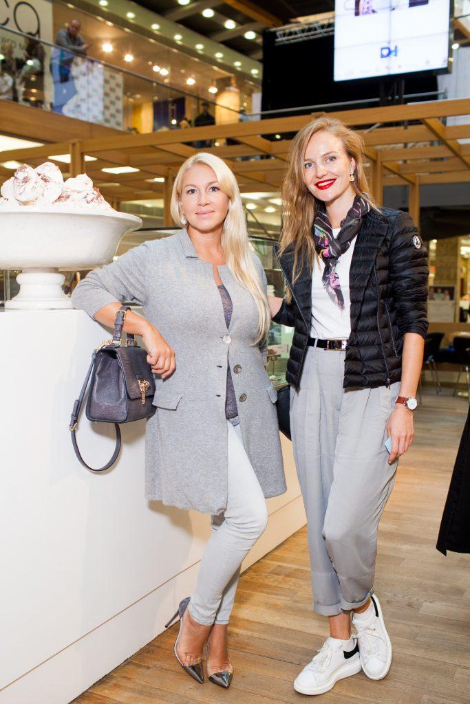 Екатерина Одинцова и Светлана Королева