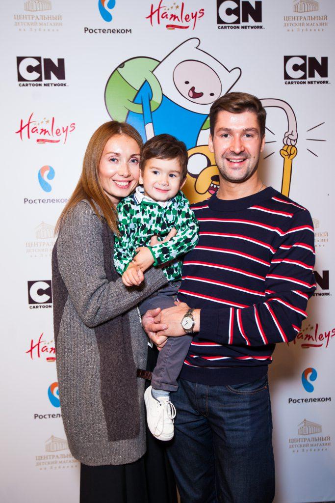 Мария Железнякова и Дмитрий Шипилов с сыном Александром