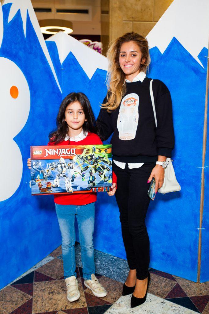 Анжелика Ревва с дочерью Алисой