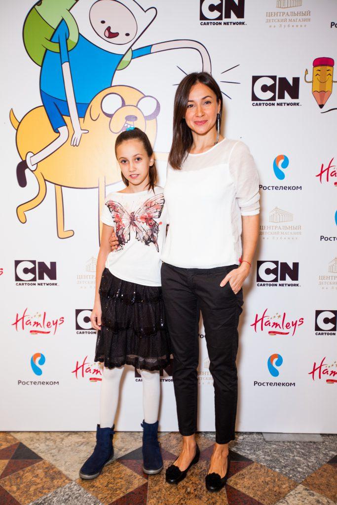 Ольга Филиппова с дочерью Вероникой