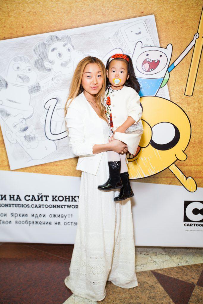 Евгения Ким с дочерью Александрой