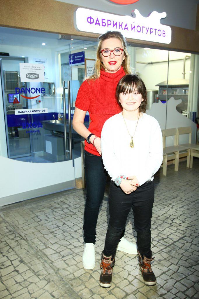 Маргарита Митрофанова с дочерью Полиной