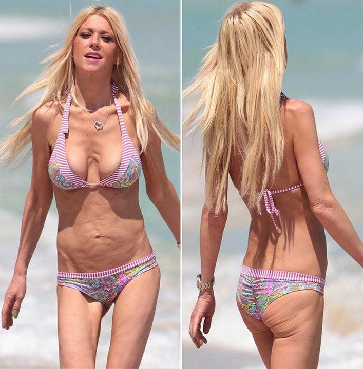 Тара Рид (40) совершенно не стесняется своего тела, хотя мы бы на ее месте носили купальники не так часто...