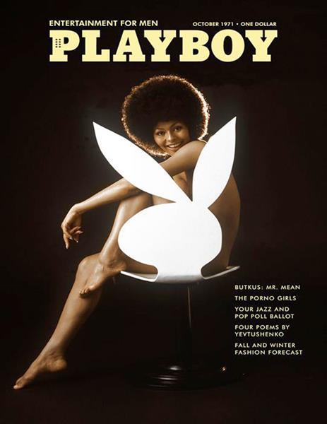 Дарин Стерн, журнал Playboy, октябрь 1971. Стала первой темнокожей моделью, появившейся на обложке этого издания. Фотографом был Ричард Фигли. В те времена