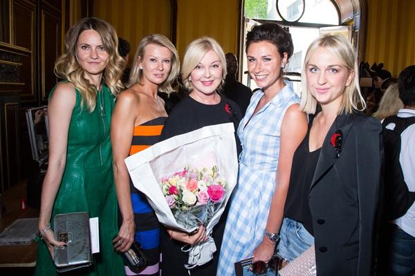 Екатерина Мухина, Виктория Борисевич, Юлия Янина, Дарья Веледеева и Дарья Янина