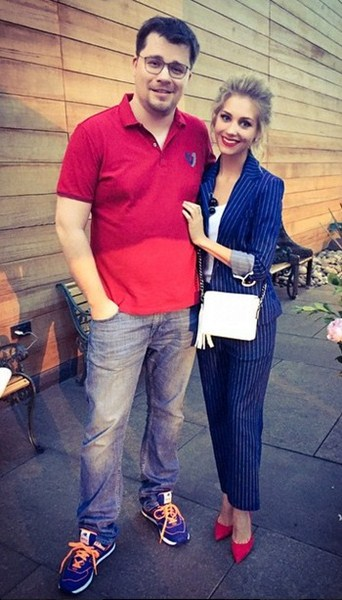 Кристина Асмус и Гарик Харламов счастливы вместе.