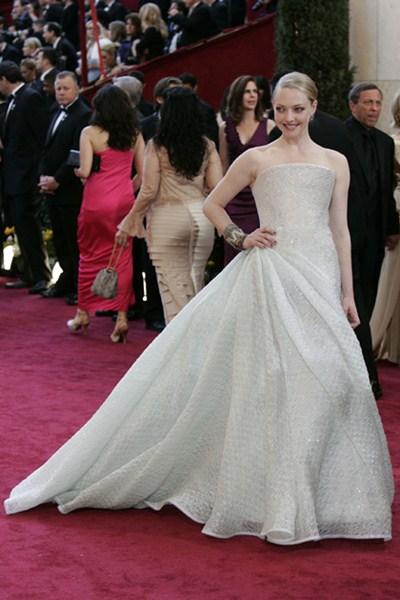 Актриса Аманда Сейфрид (29) в платье Armani Prive. 2010 год.