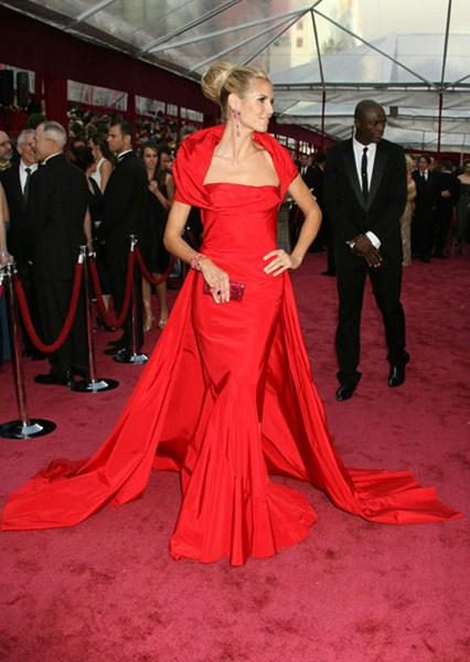 Актриса Хайди Клум (41) в платье John Galliano. 2010 год.