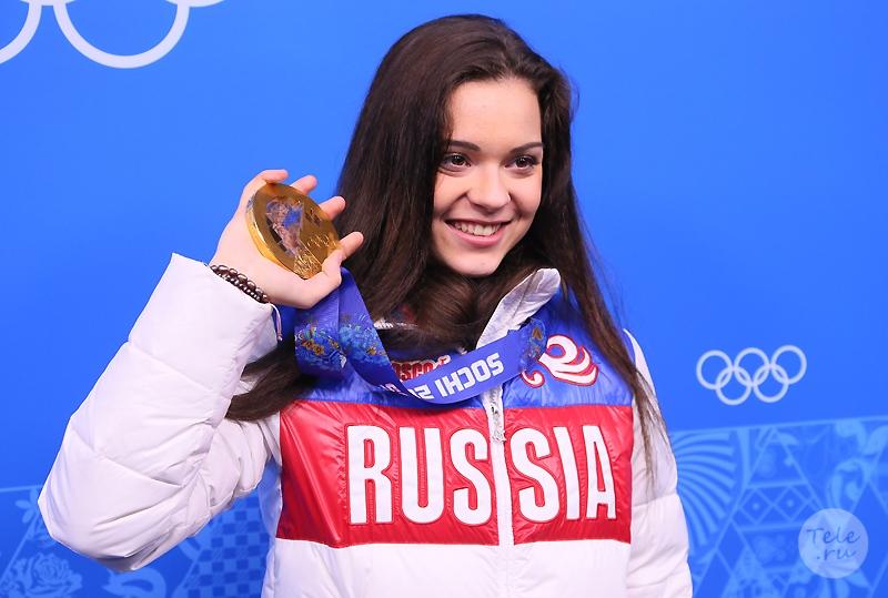 Фигуристка Аделина Сотникова, 18