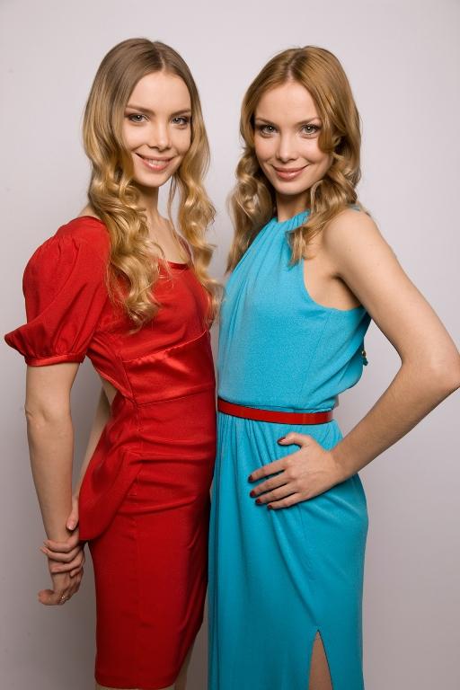 Актрисы Татьяна и Ольга Арнтгольц (32), 163 см