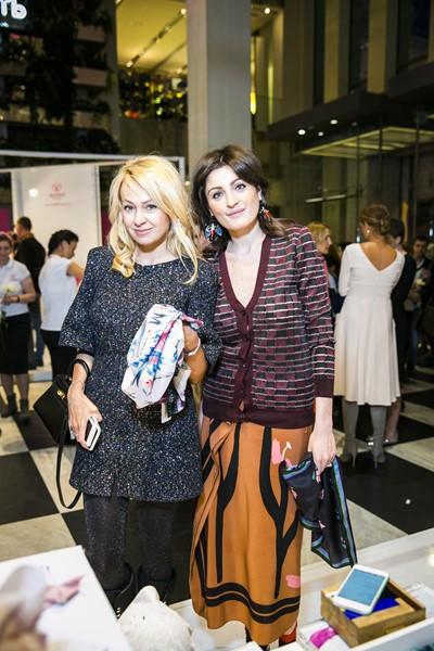 Яна Рудковская и Марина Линович