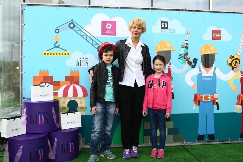 Екатерина Волкова с детьми