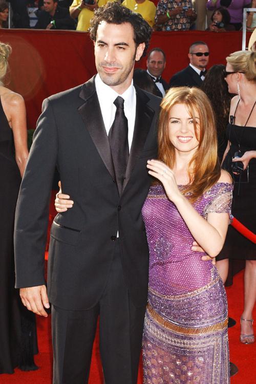 Саша Барон Коэн (43) и Айла Фишер (39)