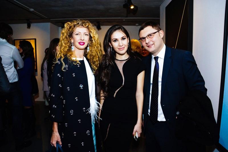 Изольда Ишханишвили, Мадина Гогова и Василий Церетели