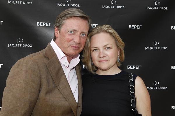 Алексей Щербаков с супругой
