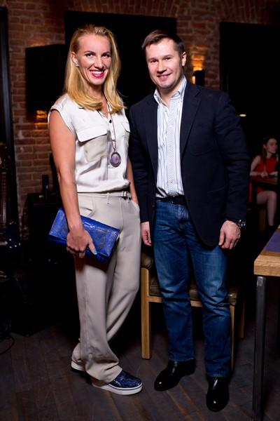 Светлана Кузнецова и Алексей Немов