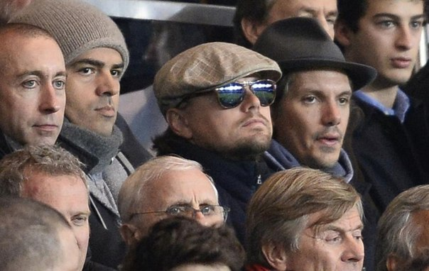 Актер Леонардо Ди Каприо, 40