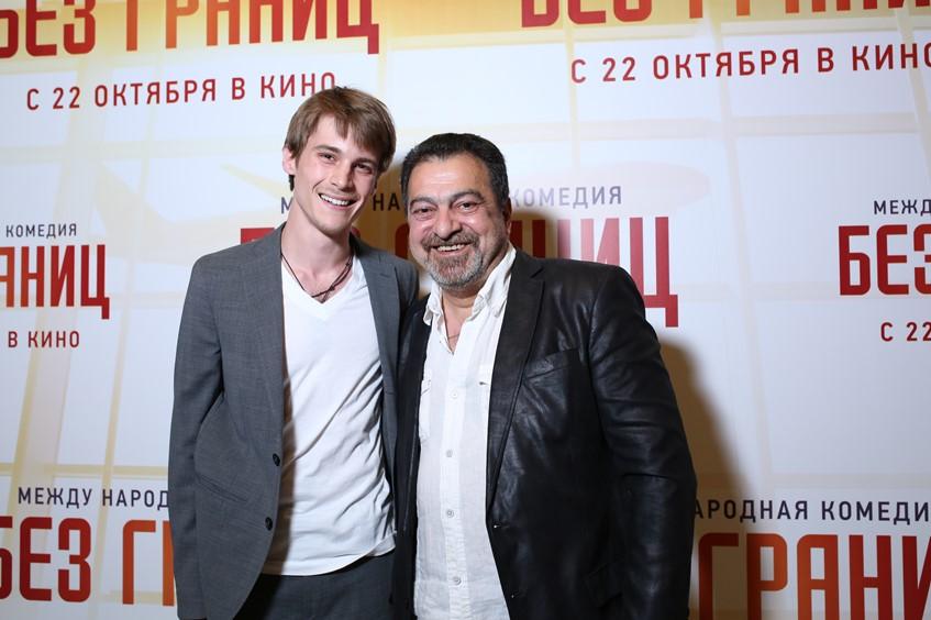 Иван Янковский и Грант Тохатян