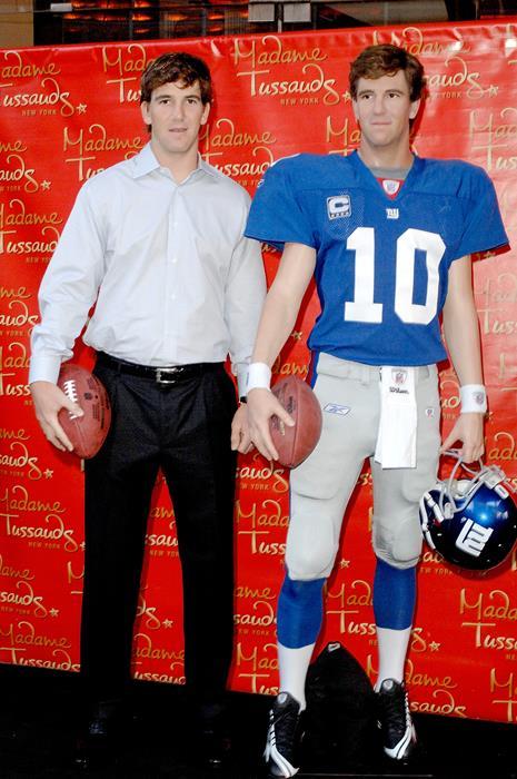 Илай Мэннинг (33), игрок в американский футбол клуба New York Giants