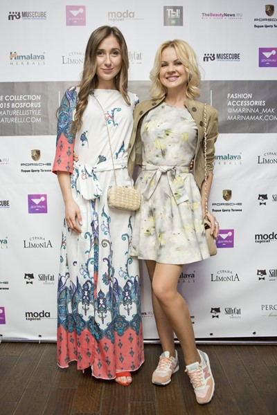 Мариам Матурелли и Ира Ортман