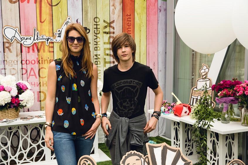 Дарья Лисиченко с сыном