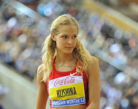 Легкоатлетка Дарья Клишина, 24