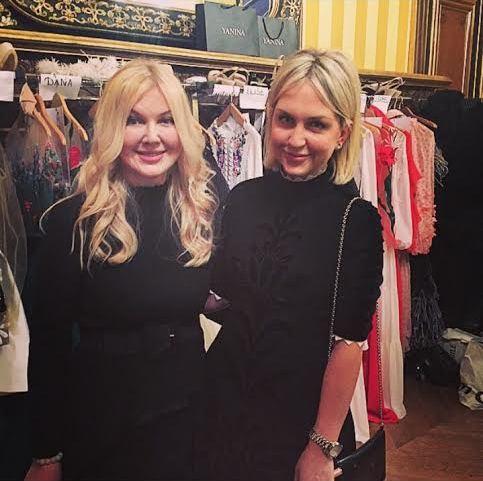 Дизайнер Юлия Янина (49) и ее дочь Дарья Янина (28)