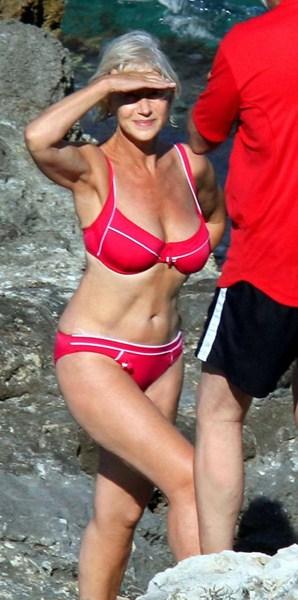 Актриса Хелен Миррен, 69