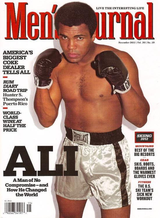 Боксер Мохаммед Али, 73