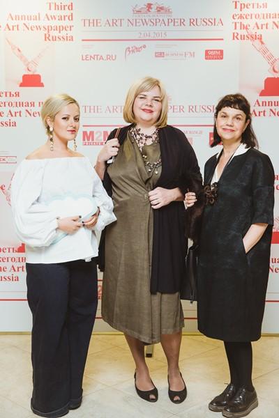Анна Монгайт, Милена Орлова и Марина Лошак