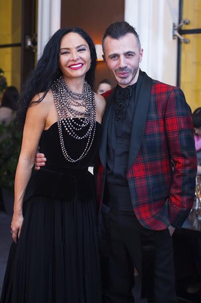 Миранда Мирианашвили и Александр Сирадекиан
