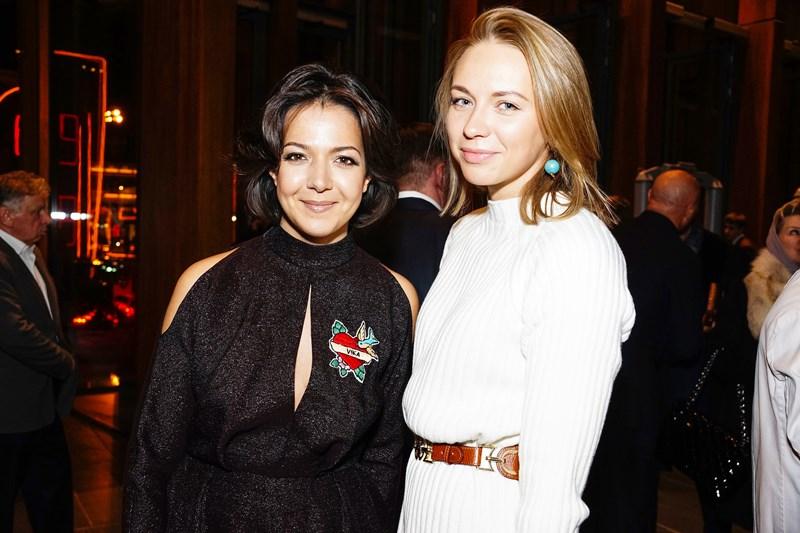 Ксения Чилингарова и Анжелика Тиманина