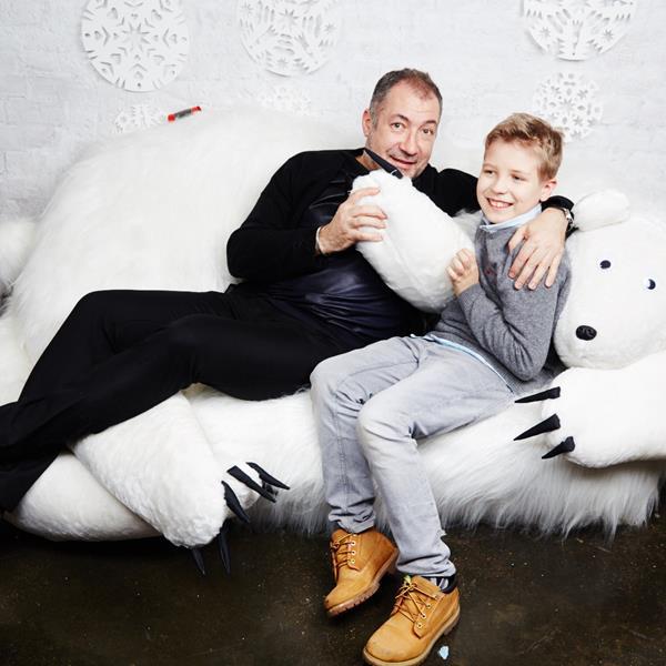 Вадим Ясногородский с сыном