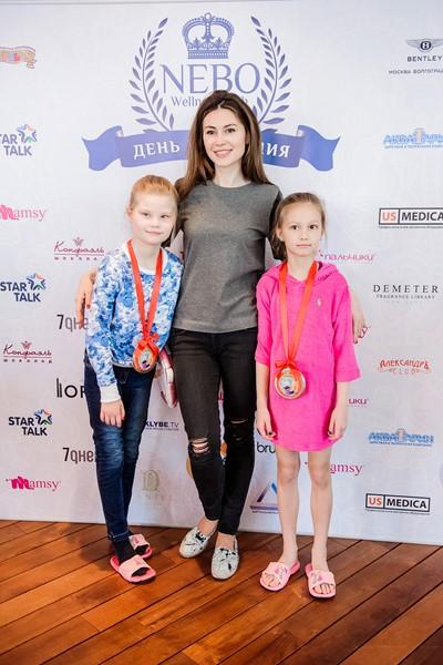 Ольга Ушакова с дочерьми