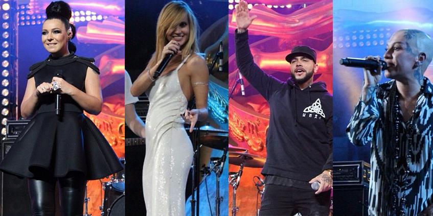Глюкоза, Елка, Тимати, Наргиз Закирова  и многие другие выступали на сцене торгово-развлекательного центра «VEGAS Крокус Сити» в рамках музыкальной программы RU.TV.