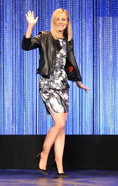 Актриса Кристен Белл (34), 155 см
