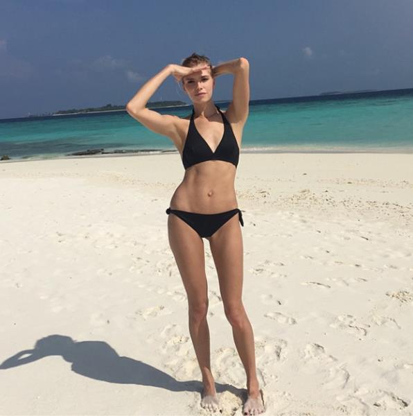 Лена Перминова (28), модель