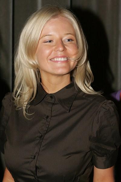 Российская телеведущая Татьяна Арно, 33