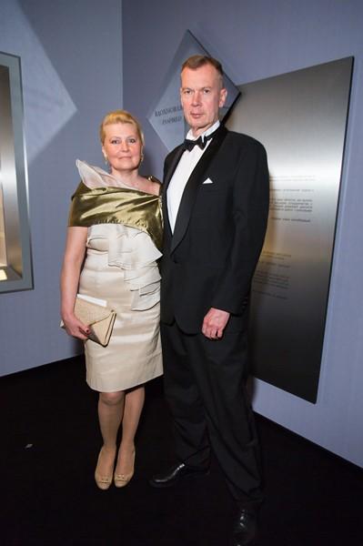 Александр Шульгин с супругой