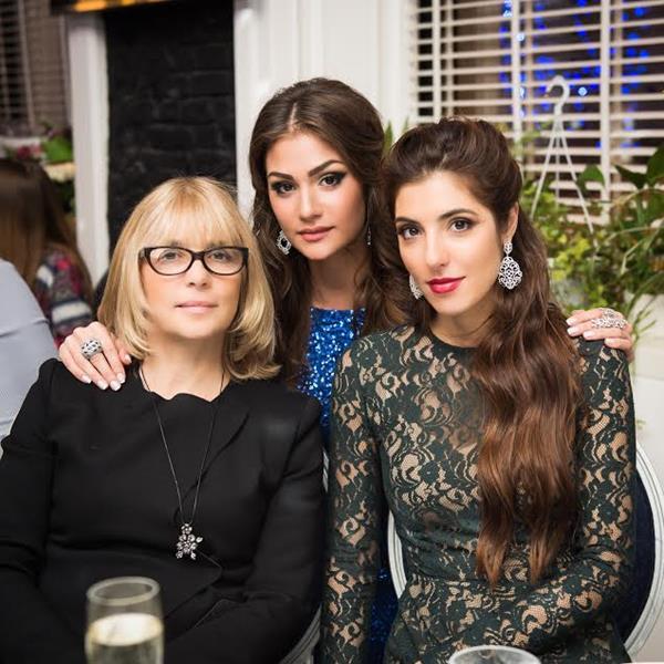 Вера Глаголева, Анастасия Шубская и Мария Нахапетова