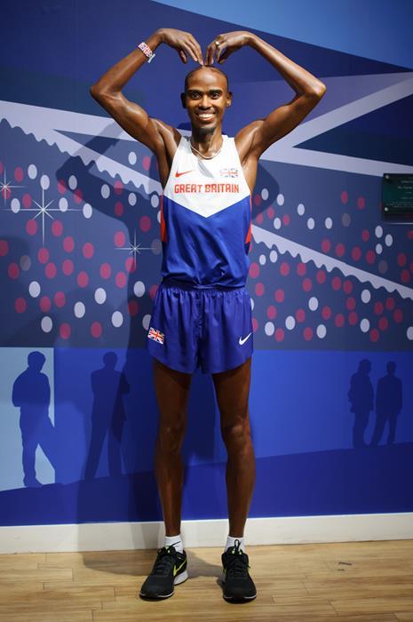 Мохаммед Фарах (31), британский легкоатлет