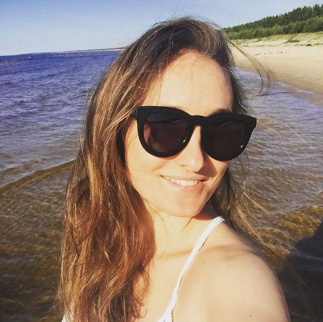 Анастасия Винокур расслаблялась в Юрмале.